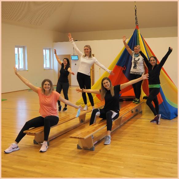Abschluss Dipl. Bewegungstrainerinnen für Kleinkinder
